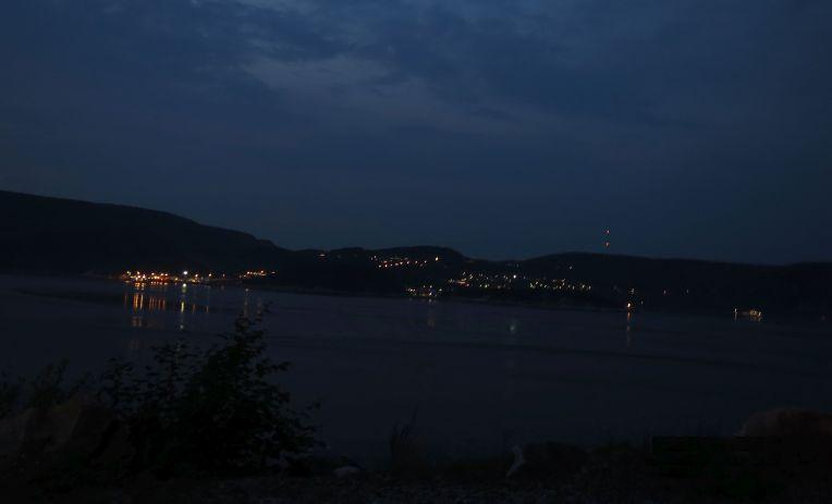 Tadoussac at night