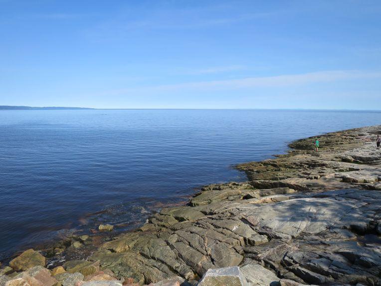 Tadoussac shore