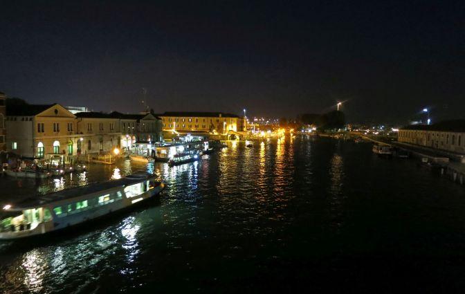 Night river