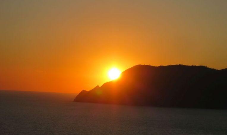 Melting sunset Corniglia