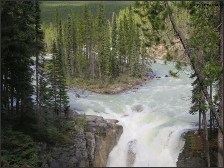 Sunwapta Falls 1