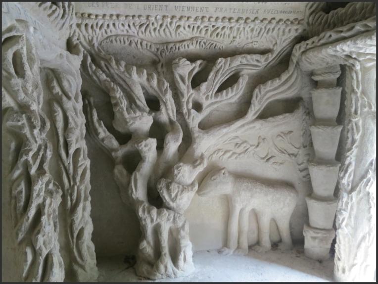 Palais Ideal Detail