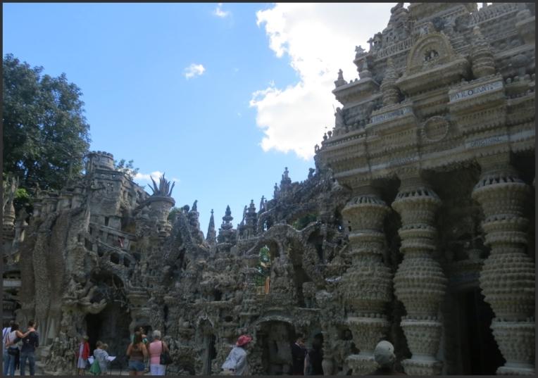 Palais Ideal East Facade