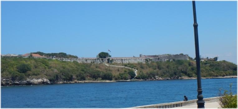 Fortaleza de San Carlos de la Cabana walls