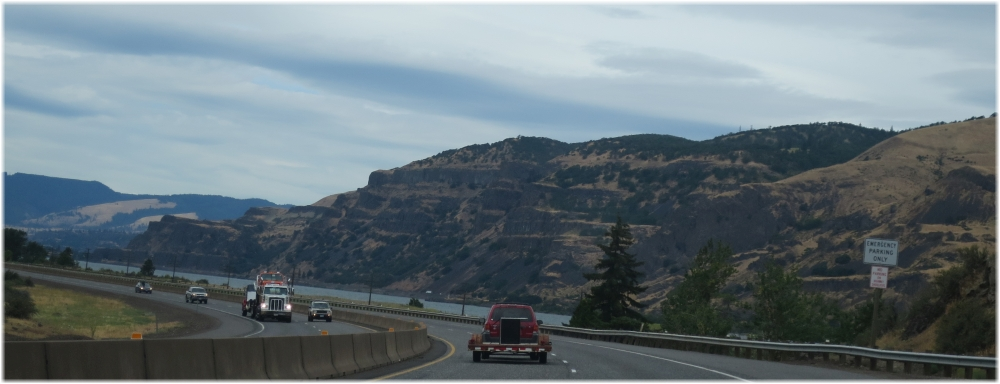 Columbia River along I84