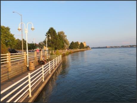 St Marys River Waterfront Boardwalk