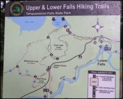 Tahquamenon Falls State Park - Hiking Trails