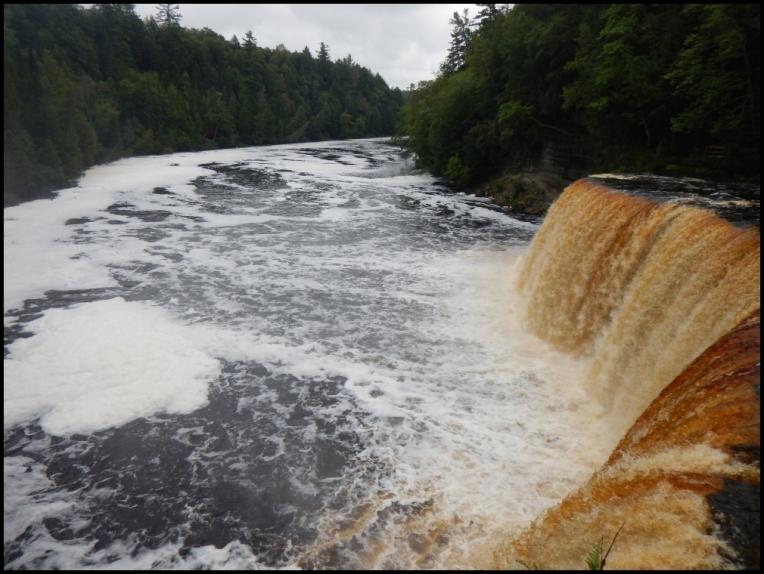 Upper falls - foam