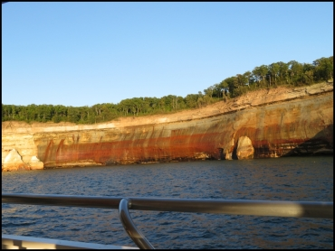 Painted Coves - Pictured Rocks