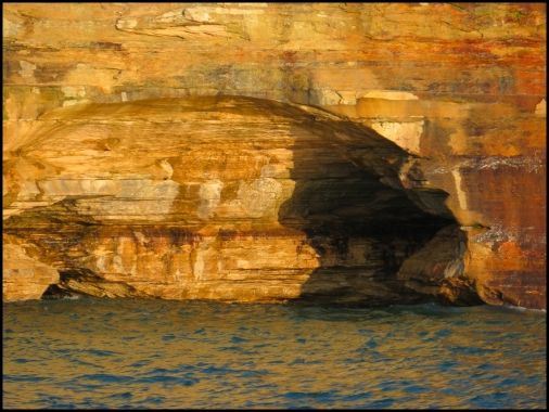 Rock layers detail