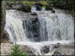 Sable Falls - detail
