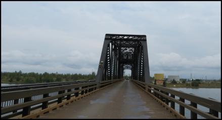 Little Current - one way bridge