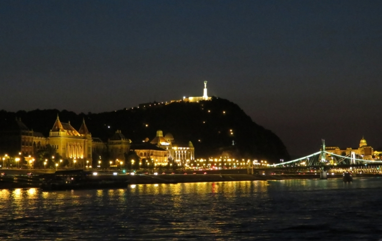 Budapest - Buda, Danube Western shore