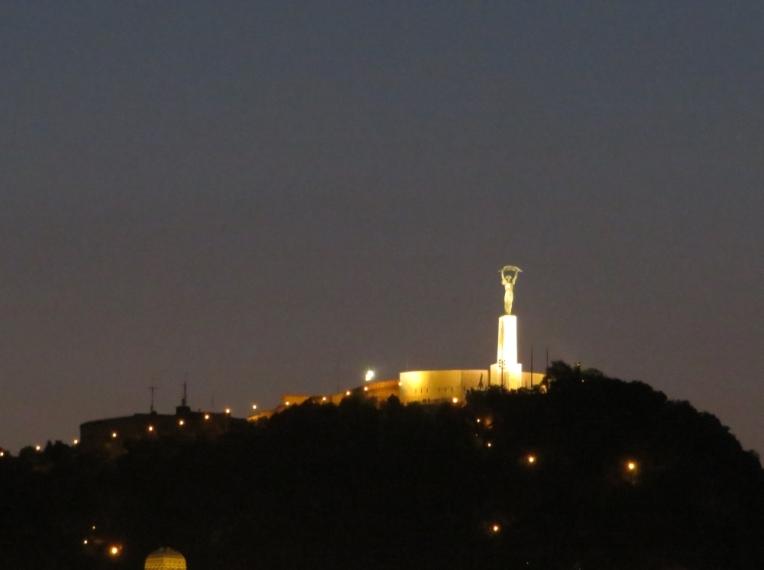 Budapest - Liberty Statue and the Citadella