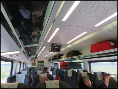 Vienna to Budapest train