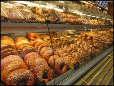 Vienna train station, coffee boutique