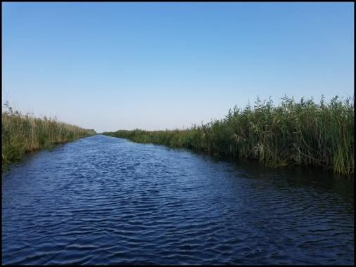 Sulina - blue channel of Danube