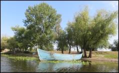Sulina - resting boats