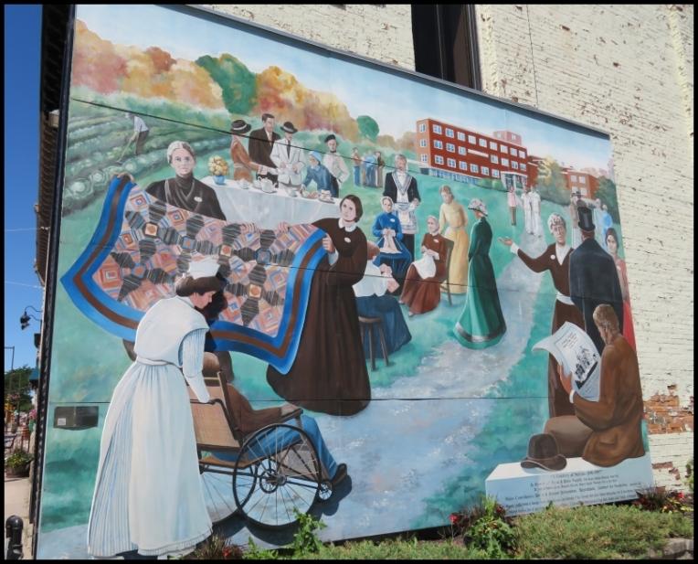 Pembroke mural - A CENTURY OF SERVICE