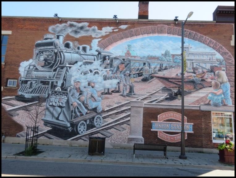 Pembroke mural - GRAND TRUNK UNION STATION