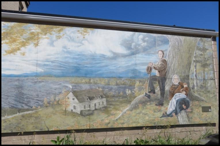Pembroke mural - PETER WHITE