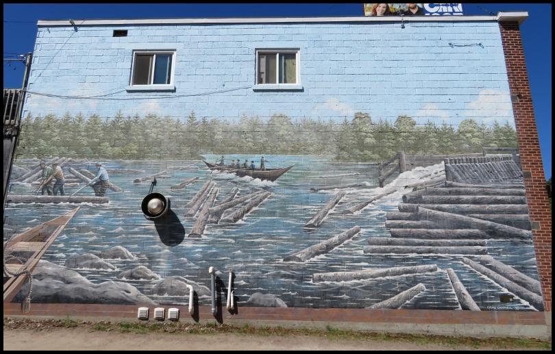 Pembroke mural - POINTER BOATS
