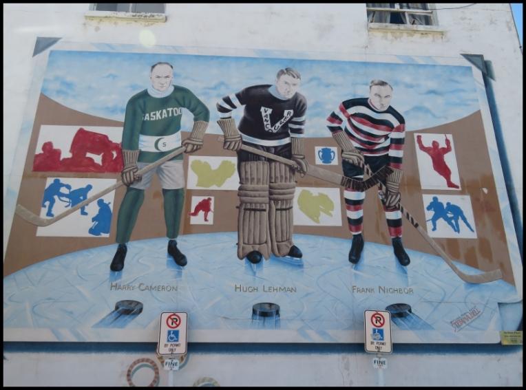 Pembroke mural - THE HOCKEY PLAYERS