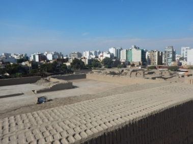 Huaca Puclanna - view from the top of the pyramid