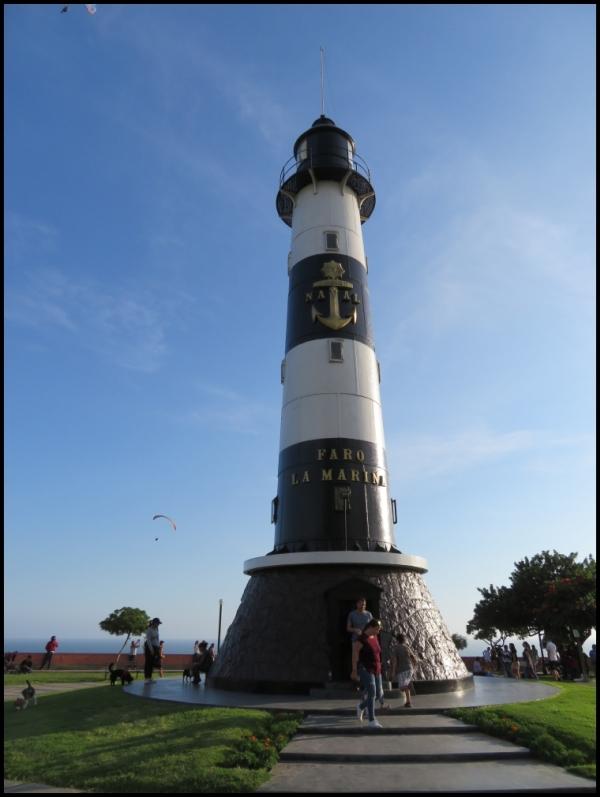 Lima - Miraflores - the lighthouse