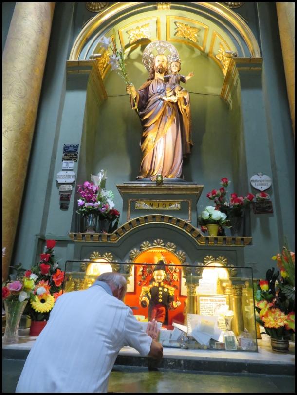 Lima - praying person