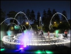 Parque de la Reserva - The magic water tour