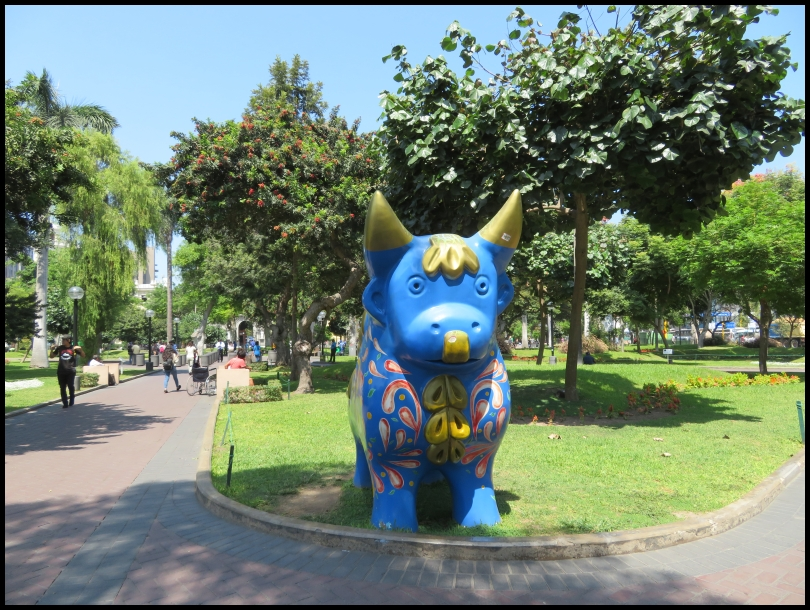 Kennedy park - Pucara bull