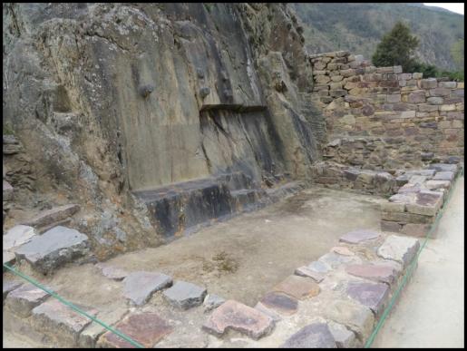 Ollantaytambo - Archaeological park - Inca Misana