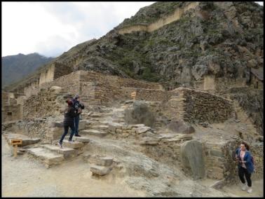 Ollantaytambo - Archeological park - Militar zone