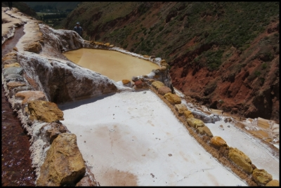 Maras - ponds and flowing channel