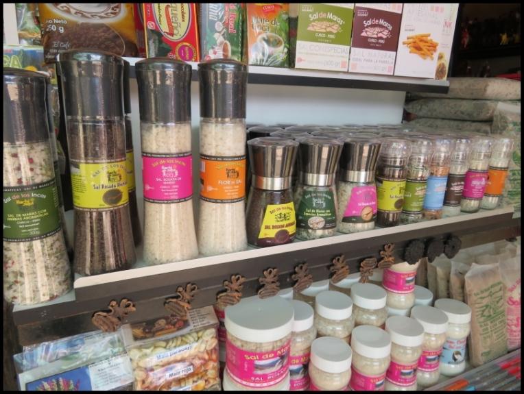 Maras - salt products