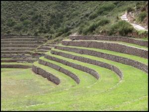 Moray - terraces, detail