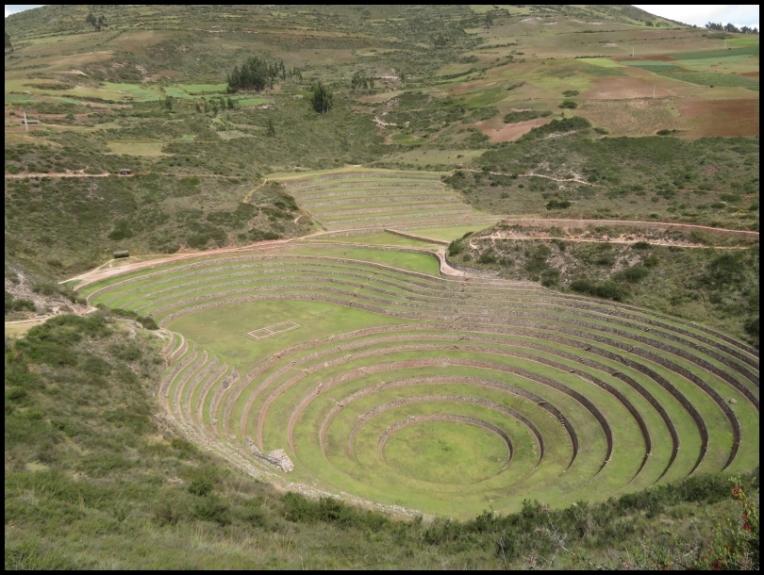 Sacred Valley - Moray - main terraced circular depression