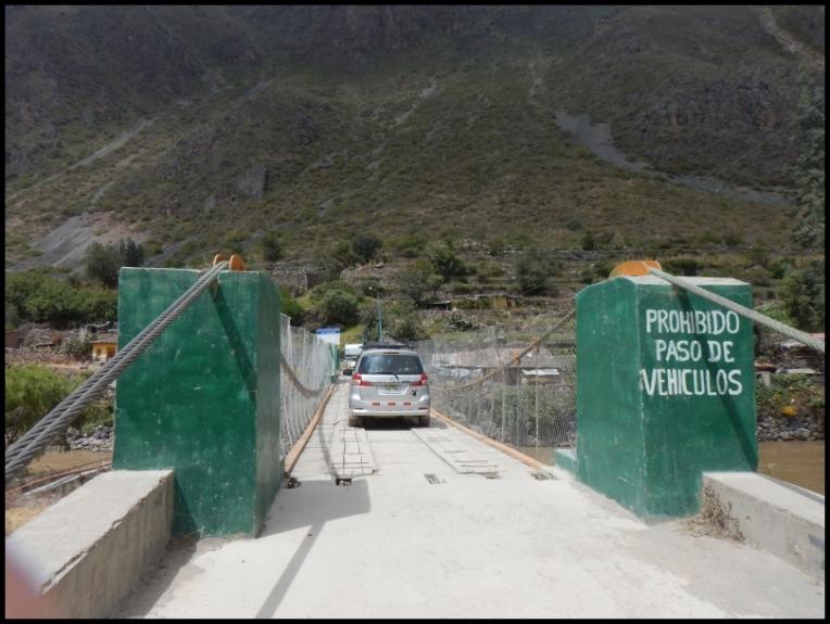 Ollantaytambo - Inca Bridge