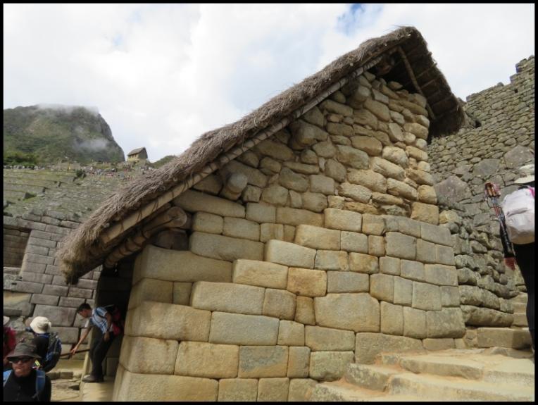 Machu Picchu - house model