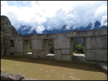 Machu Picchu -Room of the Three Windows