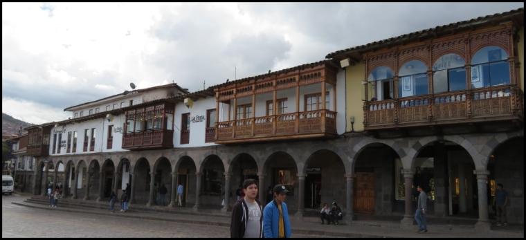 Cusco - colonial arhitecture 1