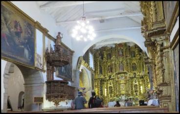 Cusco - Iglesia de San Blas