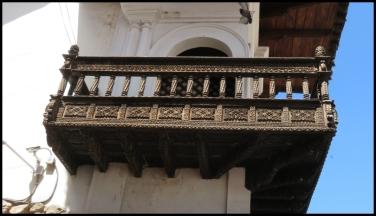 Balcony, Museo Arzobispal, Cusco