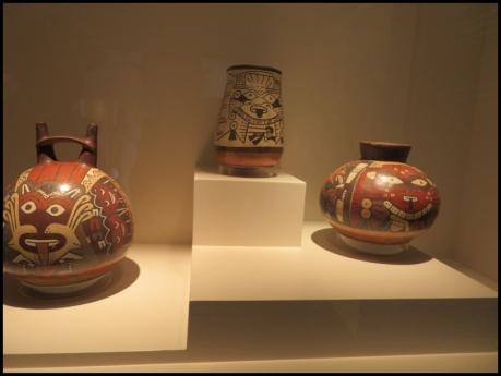 Nasca ceramic, Museo de Arte Precolombino, Cusco