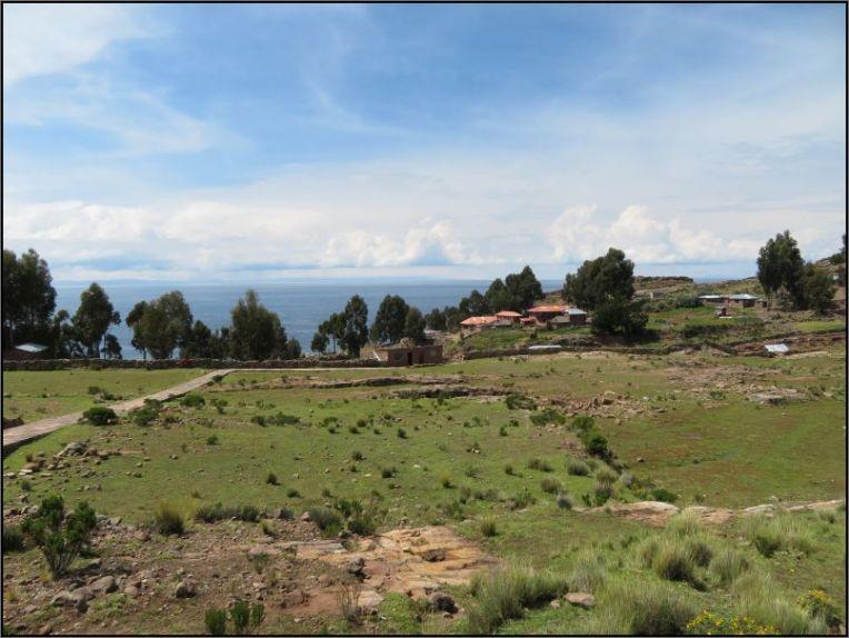 Taquile Island - rocky landscape