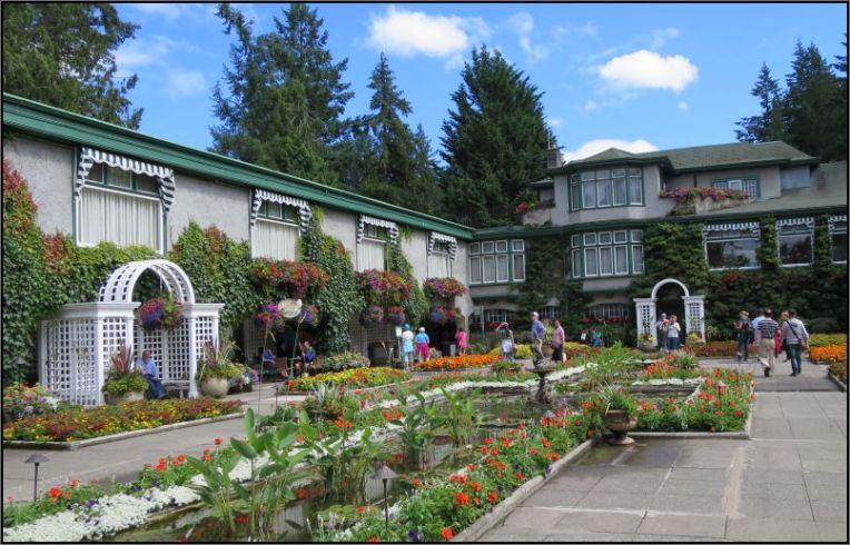 The Butchart Gardens - Italian Garden