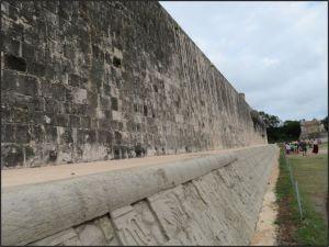 Chichen Itza - Great Ball Court - side wall