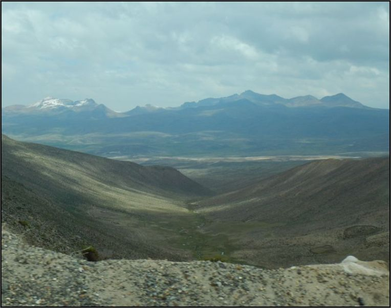 Colca Canyon - landscape