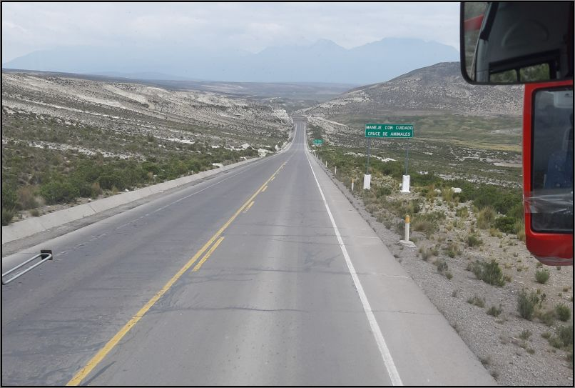 Colca Canyon - road trip
